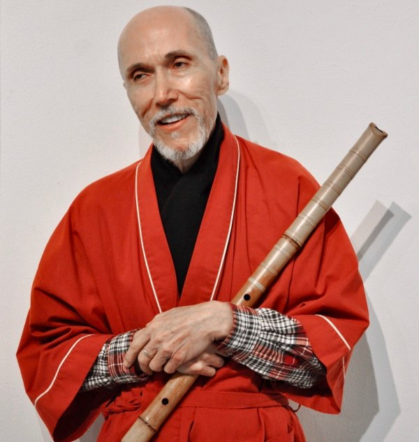 Gerald Starlight with Shakuhachi Flute