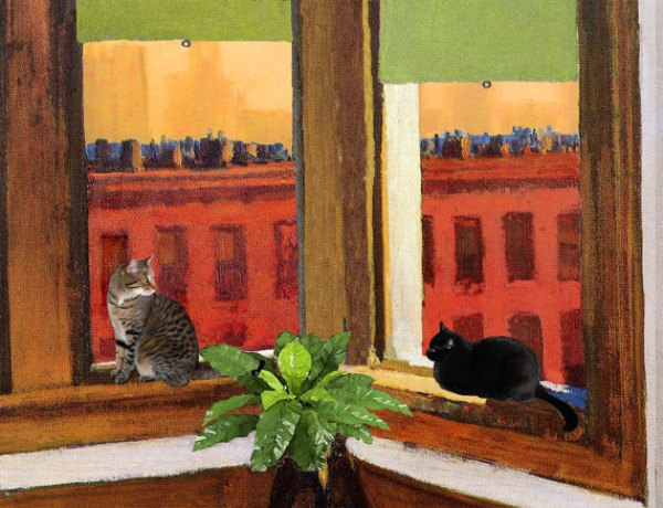 Edward Hopper's Cats