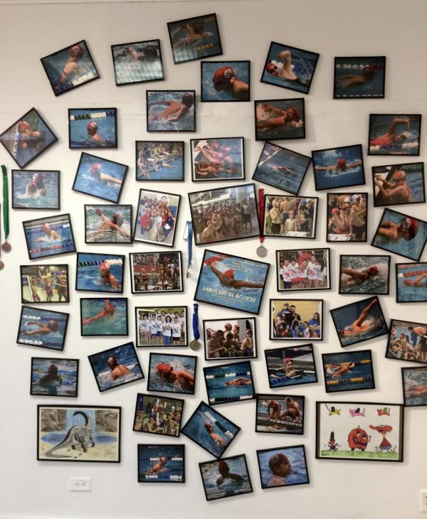 Roosevelt Island Swim Team's Gallery RIVAA Wall