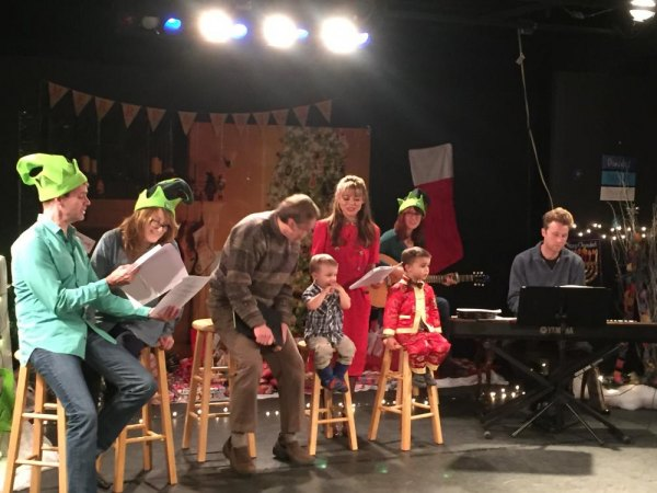 Last December's Community Sing at Main Street Theatre & Dance Alliance