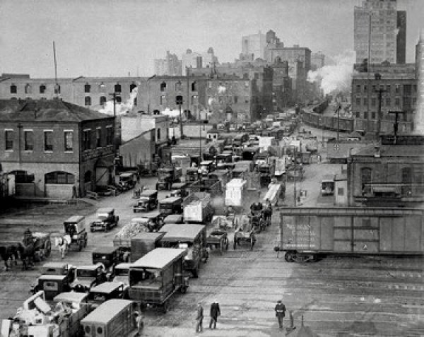 New York City Not Long After the Turn of the 20th Century