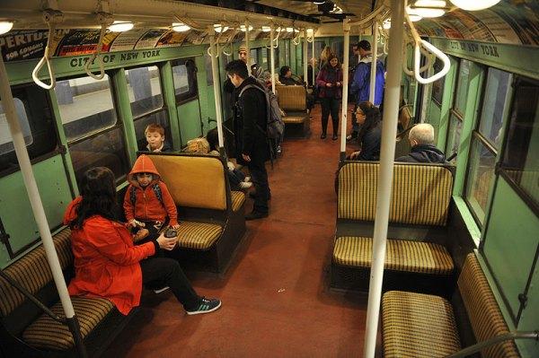 On the F Line, 2017 MTA Holiday Nostalgia Trains