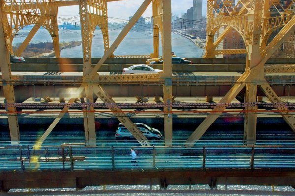 From the Old Tram, Queensboro Bridge & Southern Tip of the Island