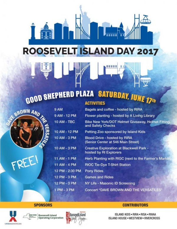 June 17th, Roosevelt Island Day