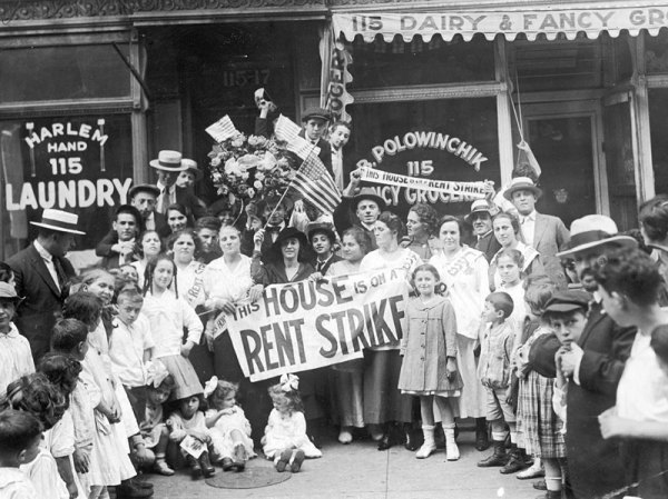 Tenant Protests: A New York Tradition