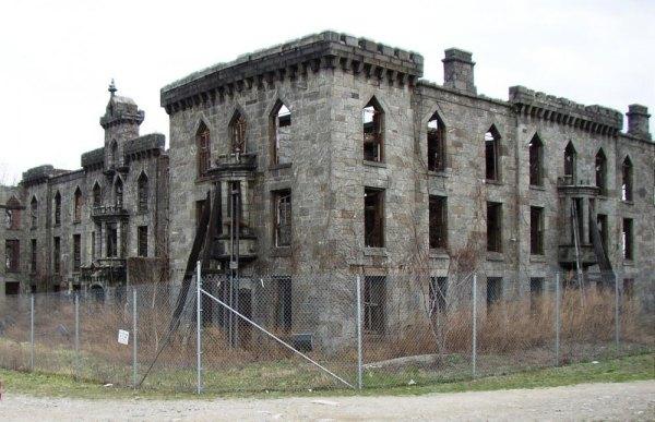 Renwick Smallpox Hospital Ruins