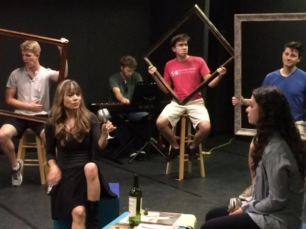 Rehearsal for Northanger Abbey, an original musical at MST&DA