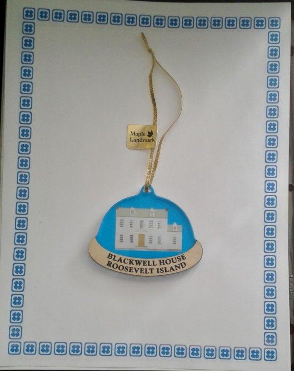 Roosevelt Island Historical Society's New Blackwell House Ornament