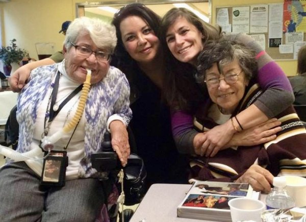 Sharing the love at Thanksgiving in the Senior Center