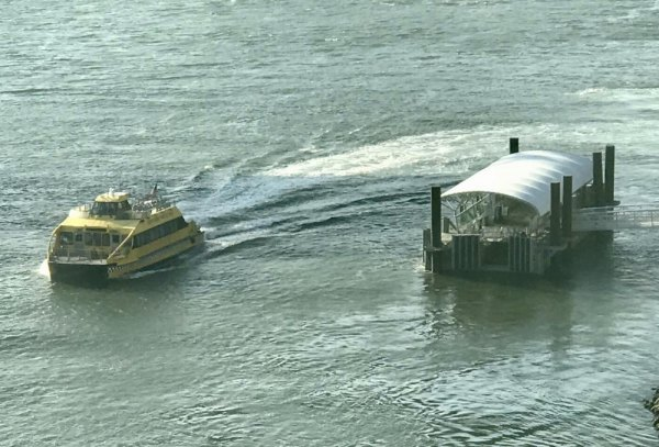 NYC Ferry Blast from the Past Lands at Roosevelt Island