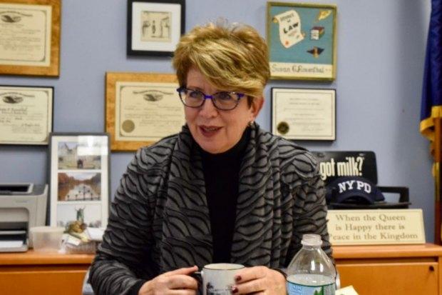 RIOC President/CEO Susan Rosenthal on the Job