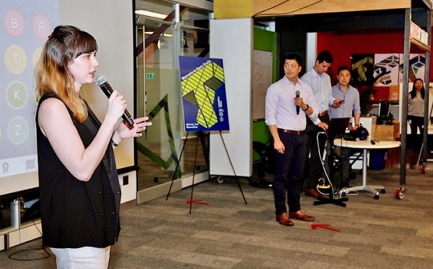 Student Presentations, Competing for Startup Awards